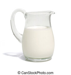 Milk - One liter milk (w clipping path)