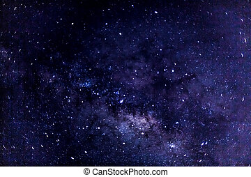 Milky way - A look at a portion of the milky way galaxy ...
