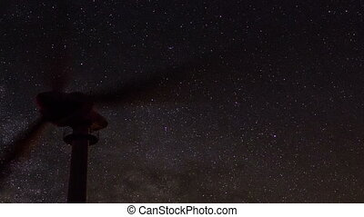 milky way across the night sky 2