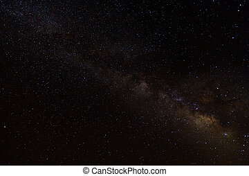 landscape of the night sky