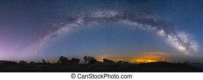 Milky Way - Milky way on Mali losinj in Croatia