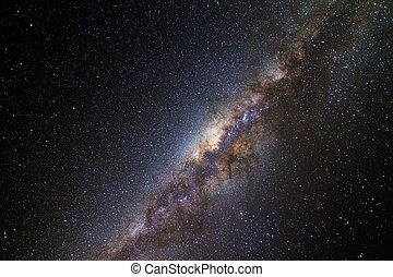 Milky Way - Beautiful image of the milky way seen from...