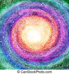 Milkyway - Space and astronomy. A congestion of stars