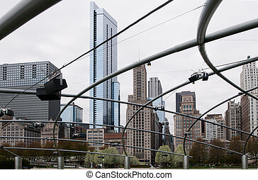 millénaire, parc, chicago
