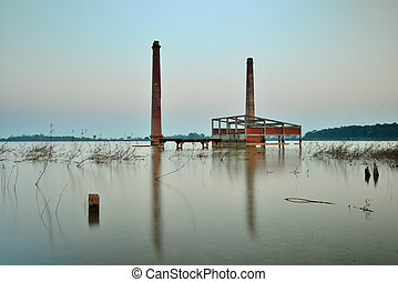 Mill abandoned