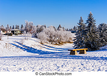 Mill Creek Ravine Park, Edmonton, Alberta, Canada