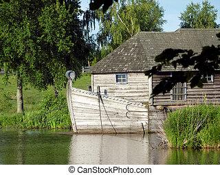 Mill - Hungarian mill boat