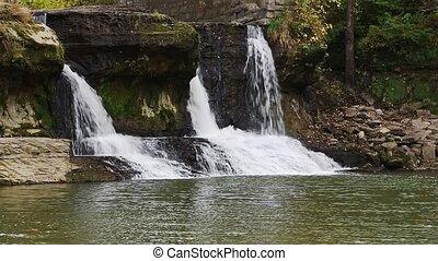 Mill Ruins Waterfall Loop