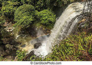 Milla Nilla Falls in Queensland, Australia