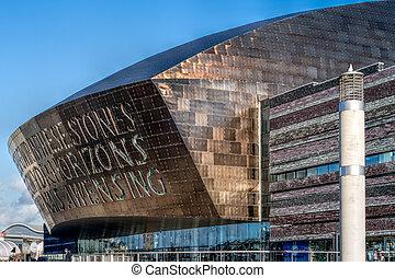 Millenium Centre Cardiff Bay