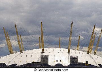 Millenium Dome, O2 Arena, London, England - The O2 Arena,...
