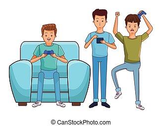 millennial, folk, gilde, gaming