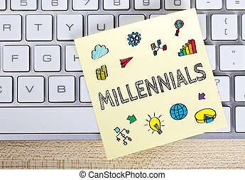 Millennials Business Concept