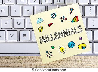 Millennials Business Concept