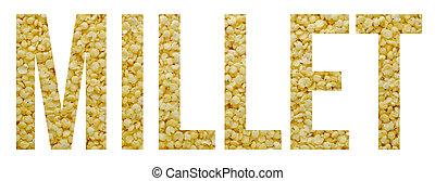 millet sample text banner