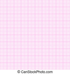 Millimeter paper seamless - Pink millimeter paper, vector...