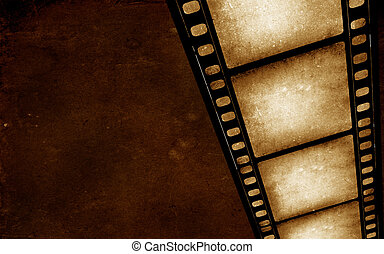 millimetro, film, vecchio, 35, film