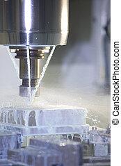 Milling Machine - Industrial Detail