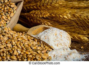 Milling wheat ingredients