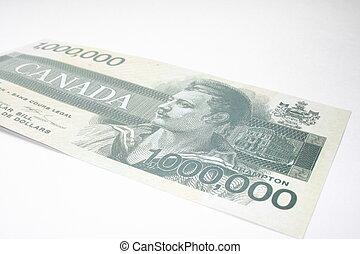 million dollar currency - fake one million dollar bill