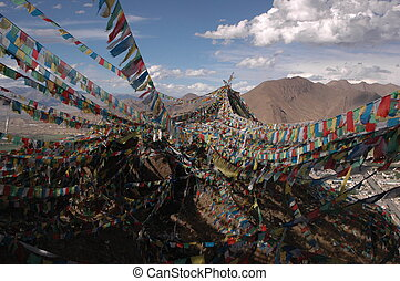 Millions of prayer flags