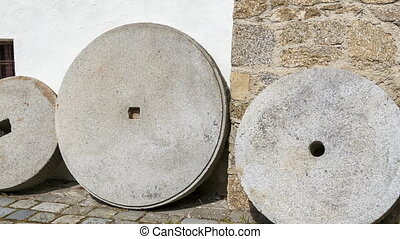 Millstones for grinding cereals