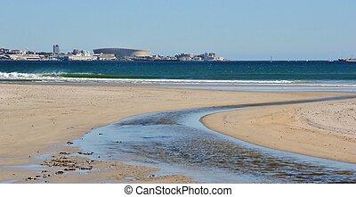 milnerton, παραλία , λιμνοθάλασσα