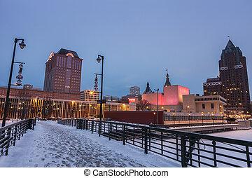 Milwaukee in Winter