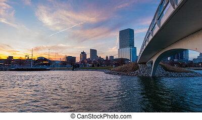 Milwaukee Wisconsint 4k Time-lapse