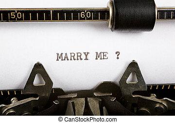 mim, casar
