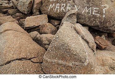 mim, casar, palavras, pedras