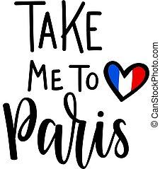 mim, lettering, romanticos, paris, vetorial, tomar