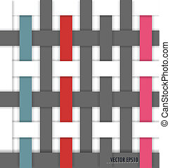 mimbre, pattern), (seamless, plano de fondo