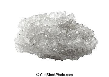 minéral, cristal, sel