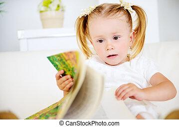 min, først, bøger