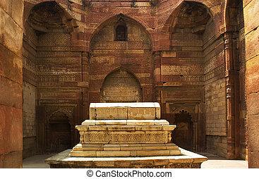 minar, 墓, インド, iltumish