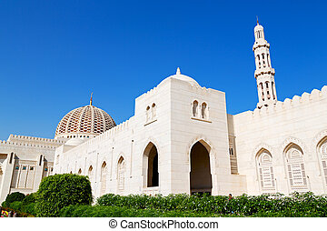 in oman muscat the old mosque