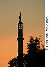 Minaret at sunset 5