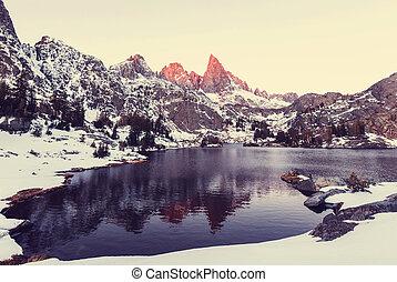 Minaret lake - Hike to beautiful Minaret Lake, Ansel Adams...