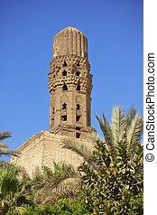 Minaret of ancient mosque