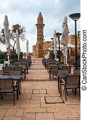 Minaret of roman period in caesarea