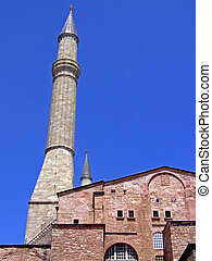 Minaret on a mosque