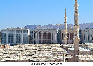 minarety, parasole