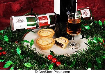 Mince pies and sherry.