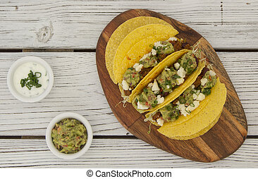 minced beef tacos