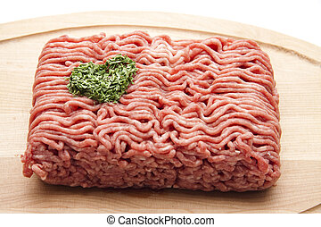Minced Meat with parsley