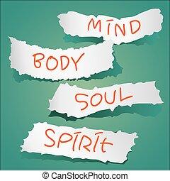Mind, Body, Soul, Spirit