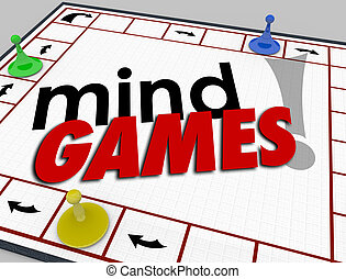 Mind Games Board Psychology Behavior Tricks Psychology...
