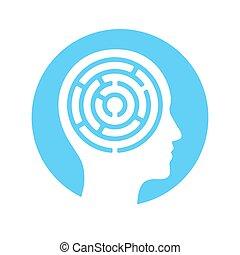 Mind maze icon