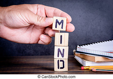 Mind. Skills, education and learning concept